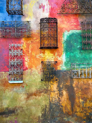 Photograph - Colorful Window Art by Haleh Mahbod