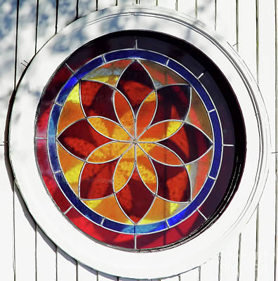 Photograph - Colorful Window by D Hackett