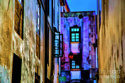 Photograph - Colorfull Alley by Rick Bragan