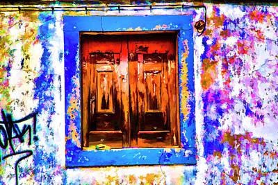 Photograph - Colorfull Window by Rick Bragan