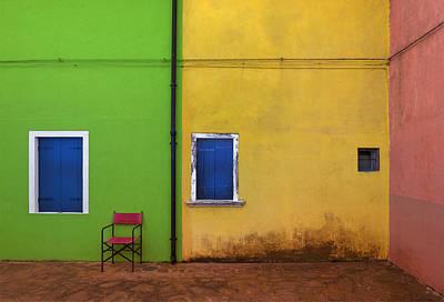 Alley Photograph - Colorland by Jure Kravanja