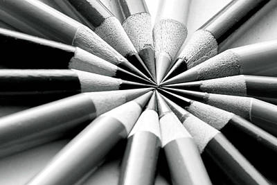 Photograph - Colorless Color Pencils by Vanessa Valdes