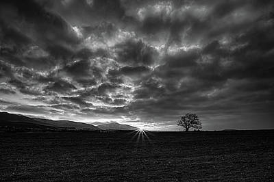 Photograph - Colorless Sunrise by Plamen Petkov