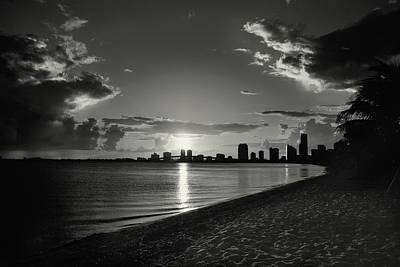 Photograph - Colorless Sunset by Vanessa Valdes