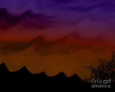 Colors At Dusk Art Print