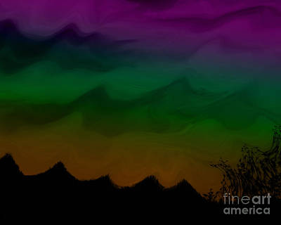 Colors At Dusk2 Art Print