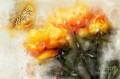 Digital Art - Colors Attract by Teresa Zieba