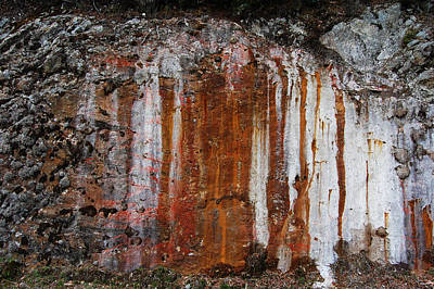 Colors Below A Gold Mine Art Print by Sarah King