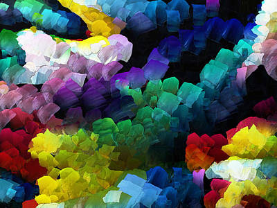Digital Art - Colors by Digital Photographic Arts