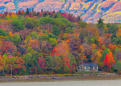 Photograph - Colors In Canada by Farol Tomson