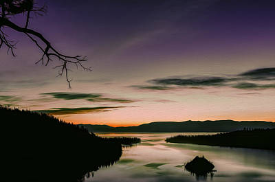 Photograph - Colors In Emerald Bay by Maria Coulson