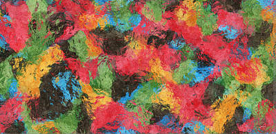 Colors In Harmony Art Print