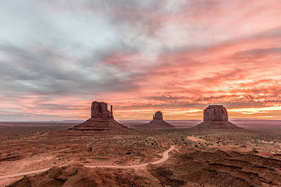 Designs In Nature Photograph - Colors In Monument by Jon Glaser