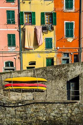 Michael Jackson - Colors in Riomaggiore by Catalin Tibuleac