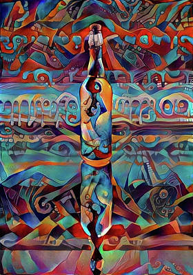 Digital Art - Colors In The Bottle by Bruce Rolff