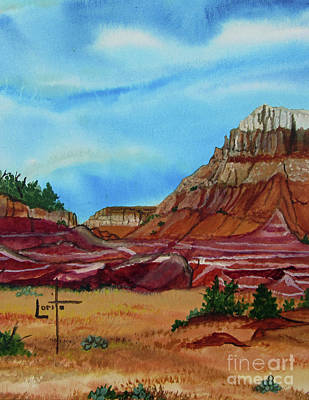 Abiquiu Painting - Colors Of Abiquiu by Lorita Montgomery