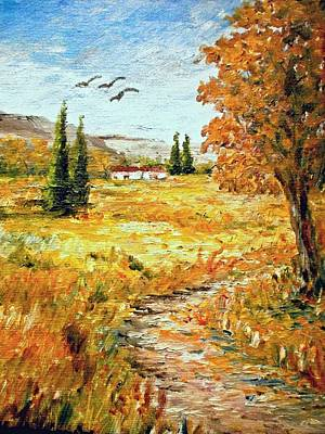 Colors Of Autumn 2 Art Print