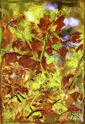 Photograph - Colors Of Autumn by Jean OKeeffe Macro Abundance Art