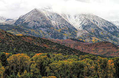 Photograph - Colors Of Autumn On Mcclure Pass by Dan Sproul