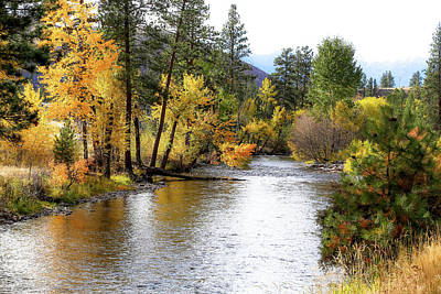 Photograph - Colors Of Autumn River by Athena Mckinzie