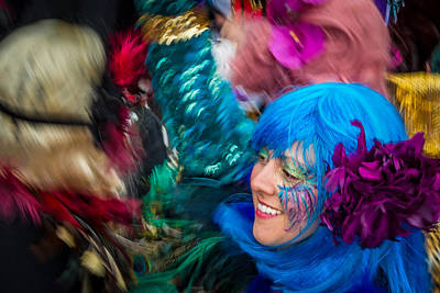 Photograph - Colors Of Carnival by Thomas Lavoie
