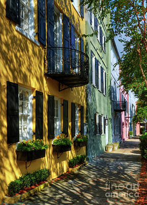 Colors Of Charleston 3 Art Print by Mel Steinhauer