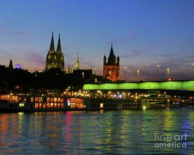 Photograph - Colors Of Cologne by Barbie Corbett-Newmin