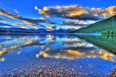 Colors Of Clouds Art Print