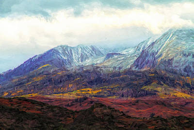 Painting - Colors Of Colorado In Autumn Light by Dan Sproul