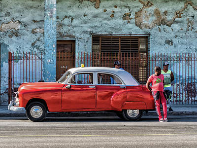 Photograph - Colors Of Cuba by Robin Zygelman