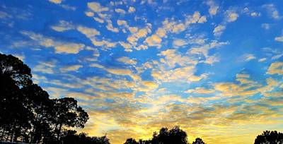 Blue Sky Photograph - Colors Of Dawn by Ric Schafer