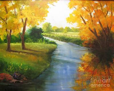 Painting - Colors Of Fall by Barbara Haviland