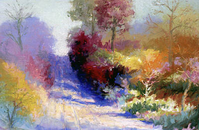 Painting - Colors Of Fall by David Garrison