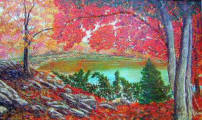 Painting - Colors Of Fall by Lee Nixon