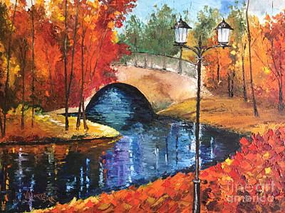 Colors Of Fall Art Print by Viktoriya Sirris