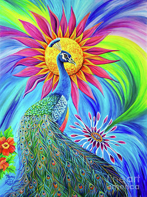 Painting - Colors Of His Splendor by Nancy Cupp