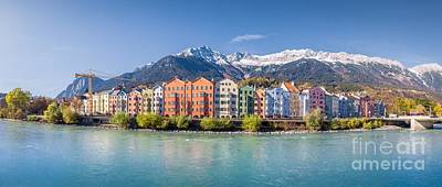 Photograph - Colors Of Innsbruck by JR Photography