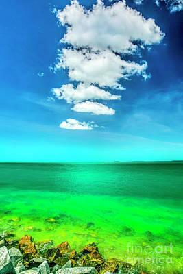 Colors Of Key West Art Print by Felix Lai