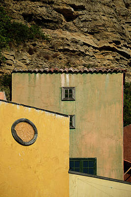 Photograph - Colors Of Liguria Houses - Facciate Case Colori Di Liguria 2 by Enrico Pelos