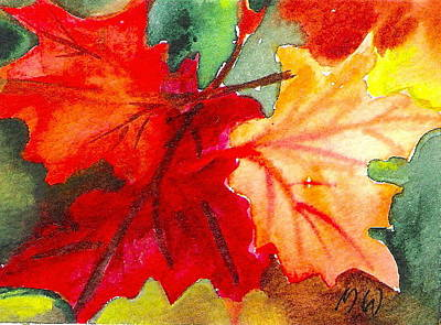 Painting - Colors Of Nature by Marsha Woods