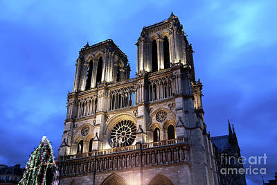 Photograph - Colors Of Notre Dame De Paris by John Rizzuto