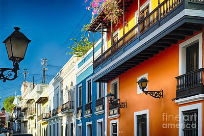 Puerto Rico Photograph - Colors Of Old San Juan II by George Oze