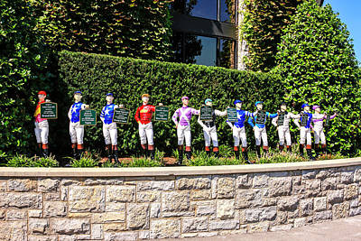 Colors Of Past Stakes At Keeneland Ky Art Print