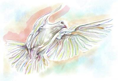 Unity Painting - Colors Of Peace by Julianne Black