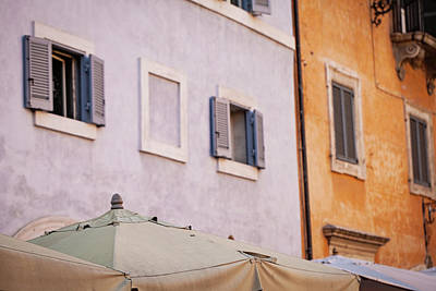 Photograph - Colors Of Piazza Della Rotonda by Melanie Alexandra Price