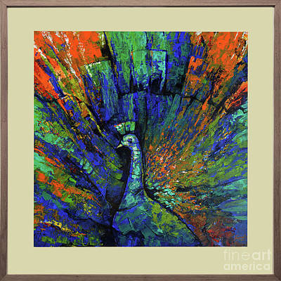 Michaeljackson Painting - Colors Of Positive Waves by Famous paintings Gurdish pannu