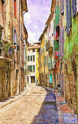 Colors Of Provence, France Art Print