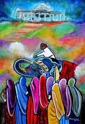 Colors Of Rajasthan Art Print