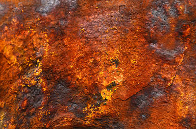 Photograph - Colors Of Rust 2 by Richard Ortolano
