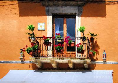 Small Statue Photograph - Colors Of Sicily # 3 by Mel Steinhauer